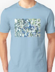 Blue and White Daisies T-Shirt
