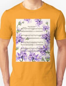 Waltz Of The Flowers Purple Dance Unisex T-Shirt