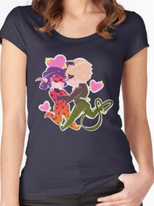 Dance with me, My Lady? Women's Fitted Scoop T-Shirt