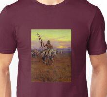 Vintage Western Native American Medicine Man Unisex T-Shirt