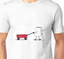 W is for Wagon Unisex T-Shirt