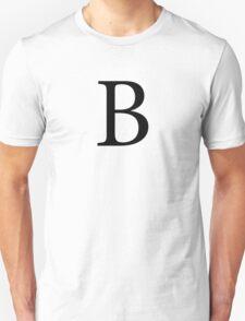 Beta Greek Letter Unisex T-Shirt