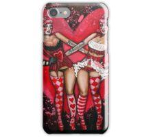 Tweedle-dee and Tweedle-dum iPhone Case/Skin