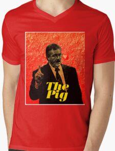 Ken Kratz - The Pig Mens V-Neck T-Shirt