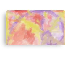 abstract nature divine sunset Canvas Print