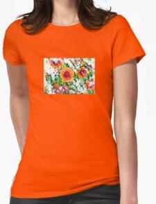 Gaillardia Womens Fitted T-Shirt