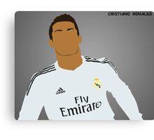 Cristiano Ronaldo ~ Simplistic Art Canvas Print