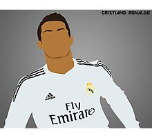 Cristiano Ronaldo ~ Simplistic Art Photographic Print