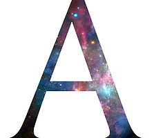 Galaxy Alpha Greek Letter by AdventureFinder