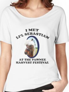 I Met Lil' Sebastian Women's Relaxed Fit T-Shirt