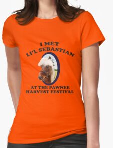 I Met Lil' Sebastian Womens Fitted T-Shirt
