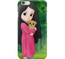 Cute Baby in a Forest iPhone Case/Skin