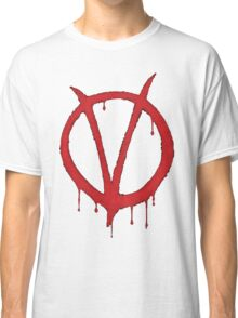V for Vendetta Tee Classic T-Shirt