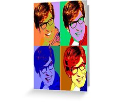 Austin Powers Poster Greeting Card
