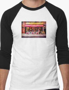Little Italy Restaurant Men's Baseball ¾ T-Shirt