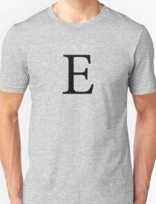 Epsilon Greek Letter Unisex T-Shirt