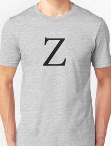 Zeta Greek Letter Unisex T-Shirt