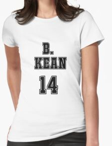 Barbara Kean Jersey Womens Fitted T-Shirt