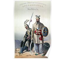 Vintage Dourraunnee Chieftains in Full Armour Poster