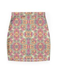 Jellyfish Day Mini Skirt