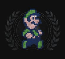Luigi - Sprite Badge by garudoh