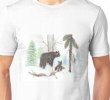 Mama Bear and Baby Unisex T-Shirt