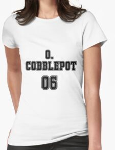 Oswald Cobblepot Jersey Womens Fitted T-Shirt