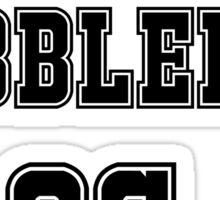 Oswald Cobblepot Jersey Sticker
