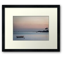 Becalmed by Jean Lelliott Framed Print