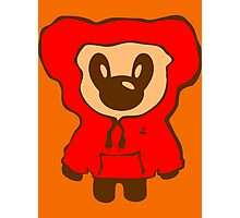 Keinage - Lil Bear (Hoody) Photographic Print