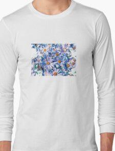 Purple Falicia Long Sleeve T-Shirt