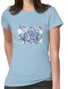 Purple Falicia Womens Fitted T-Shirt