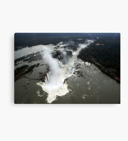 Brazil waterfall Canvas Print