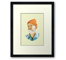 Bill Murray (Steve Zissou) Digital Painting  Framed Print
