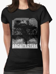 Architecture 2 Womens Fitted T-Shirt