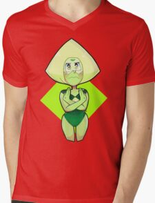 Peridot Mens V-Neck T-Shirt