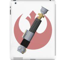 Obi-Wan Kenobi's Lightsaber - Rebel Alliance iPad Case/Skin