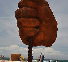 Big Fist,Sculptures By Sea<Sydney,Australia 2015 by muz2142