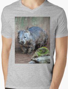 Wombat #JoBLING Mens V-Neck T-Shirt