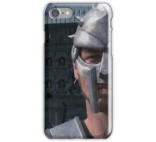 Gladiator in grey iPhone Case/Skin