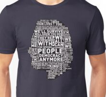 Rick Grimes Quotes Unisex T-Shirt