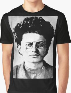 Historical Hipsters - Leon Trotsky Graphic T-Shirt