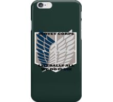Attack On Titan - Survey Corps. iPhone Case/Skin