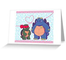 Angry Tots Greeting Card