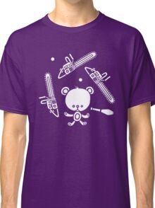 Cute Teddy Juggling 2 Balls, 3 Chainsaws and Club Classic T-Shirt