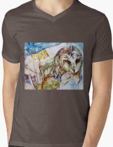 Hoo-hoo Mens V-Neck T-Shirt