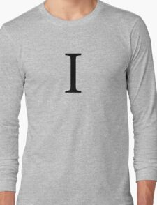 Iota Greek Letter Long Sleeve T-Shirt