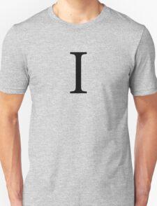 Iota Greek Letter Unisex T-Shirt