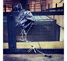 broken umbrella Photographic Print