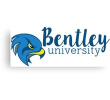 Bentley University Falcons sticker Canvas Print